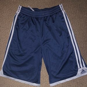 Adidas Mesh 3 stripes shorts